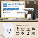 2 Pack Mini Smart Plug,WiFi Outlet Compatible with