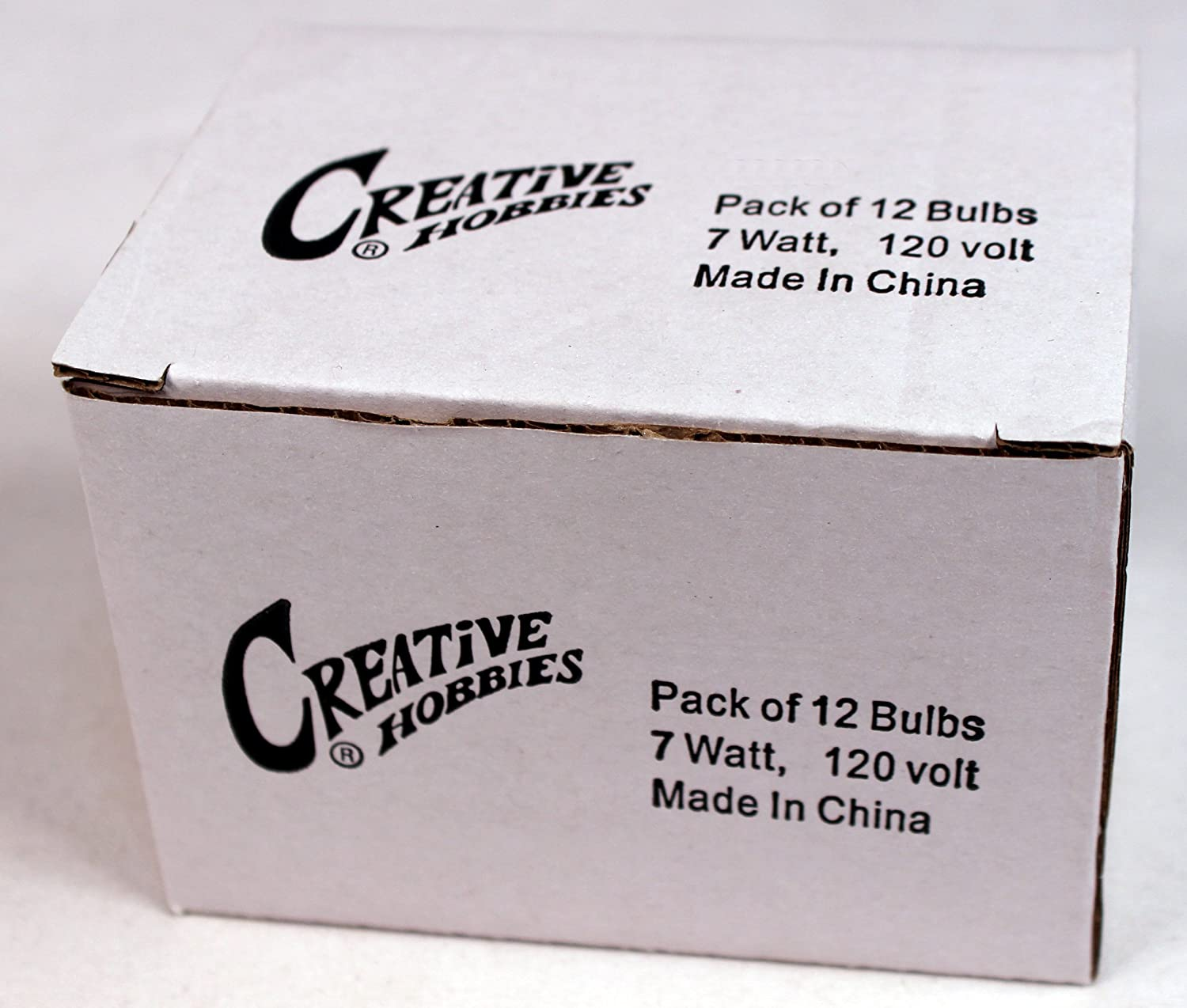 Clear Pack of 12 7 Watt Steady Burning Creative Hobbies/® Replacement Light Bulbs for Electric Candle Lamps /& Chandeliers