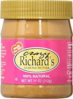 product image for Crazy Richard's Natural Almond Butter, 11 Ounce,