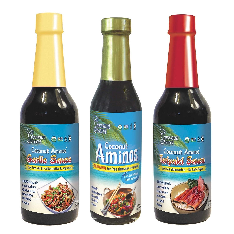 Coconut Secret Coconut Aminos Variety Pack