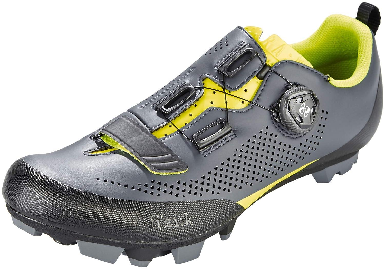 Fizik Terra X5 MTB Schuhe Herren grau grau grau gelb fluo 2018 Spinning-Schuhe MTB-Shhuhe B077GC4QVV  69dbd2