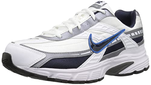 newest 1aa33 60313 Nike Men s Initiator Running Shoe, White Obsidian Metallic Cool Grey, 7.5 2E