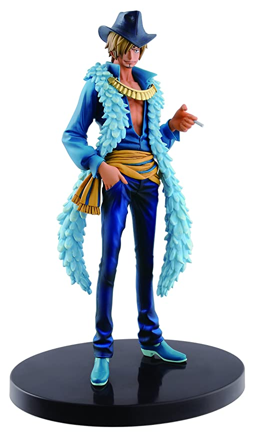 7be16dd128195 Image Unavailable. Image not available for. Color: Banpresto One Piece  6.7-Inch 15th Anniversary Edition Sanji ...