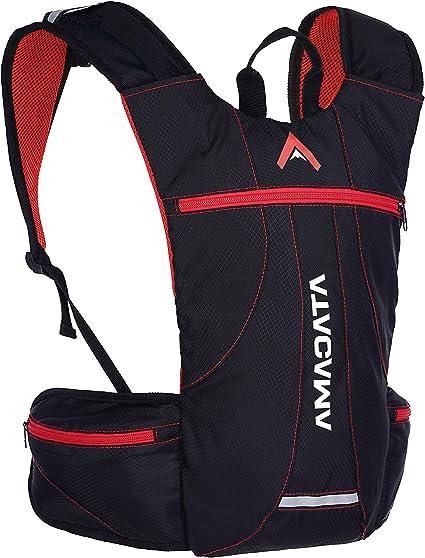 ATACAMA Pack Hydratation Sac à Dos de Course Marche à Pied de vélo sans  vessie d'hydratation