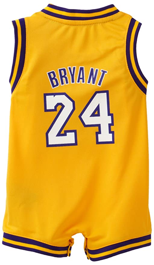 5b59142c5a51 Amazon.com  NBA Infant Los Angeles Lakers Kobe Bryant Home Onesie Jersey -  R22Uqkka (Gold