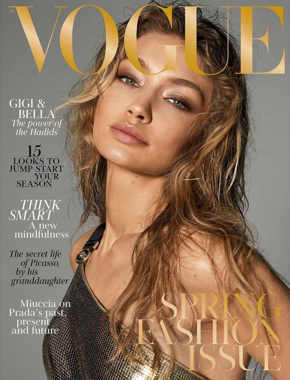 Vogue UK Magazine (March 2018) Gigi Hadid Cover: Vogue UK: Amazon