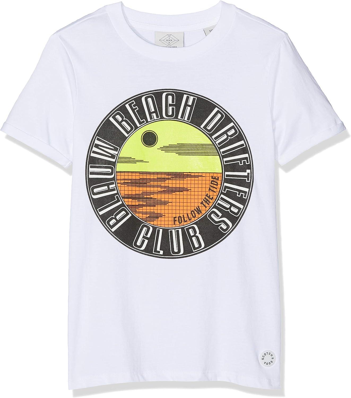 Scotch /& Soda Boys N//a Short Sleeve T-Shirt
