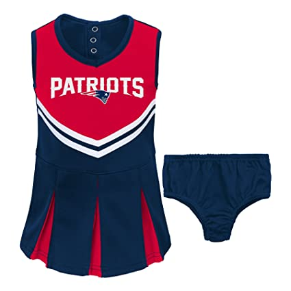 66912a234 Amazon.com  NFL New England Patriots Girl s Two Piece Cheerleader ...