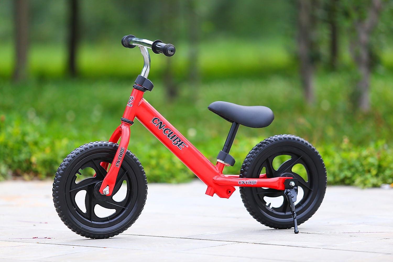 Elegantstunning Kinder 12 Zweirad Fahrrad 12 Kinder Zoll, Training Fahrrad mit Einstellbarer Lenker und Sattel 05ac73