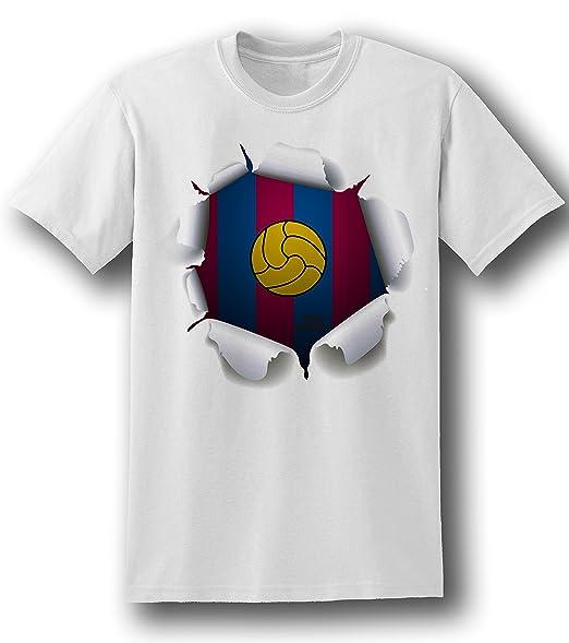 Diseño del F.C, Barcelona para hombre 3D diseño con texto en ...
