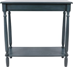 Décor Therapy console table, Antique Navy