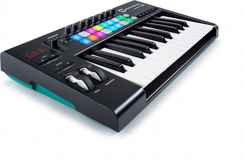 Novation Launchkey 25 MK2 USB Keyboard Controller for Ableton Live