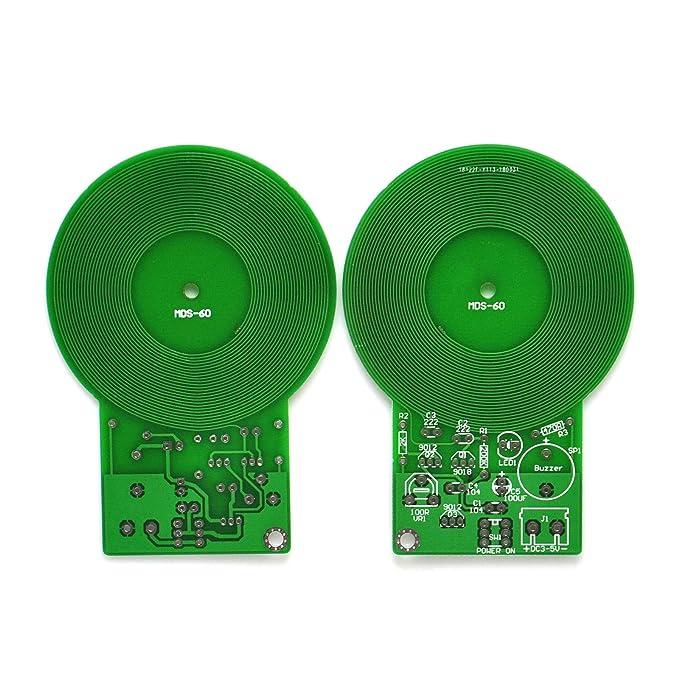 Gikfun MDS-60 - Módulo detector de metales para kit de soldadura Arduino DIY (2 unidades) EK1906: Amazon.es: Bricolaje y herramientas