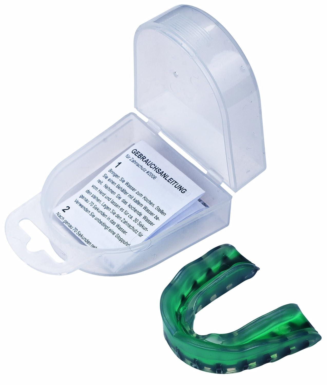 Hammer Boxing Schutzausrüstung Zahnschutz, grün grün 88001