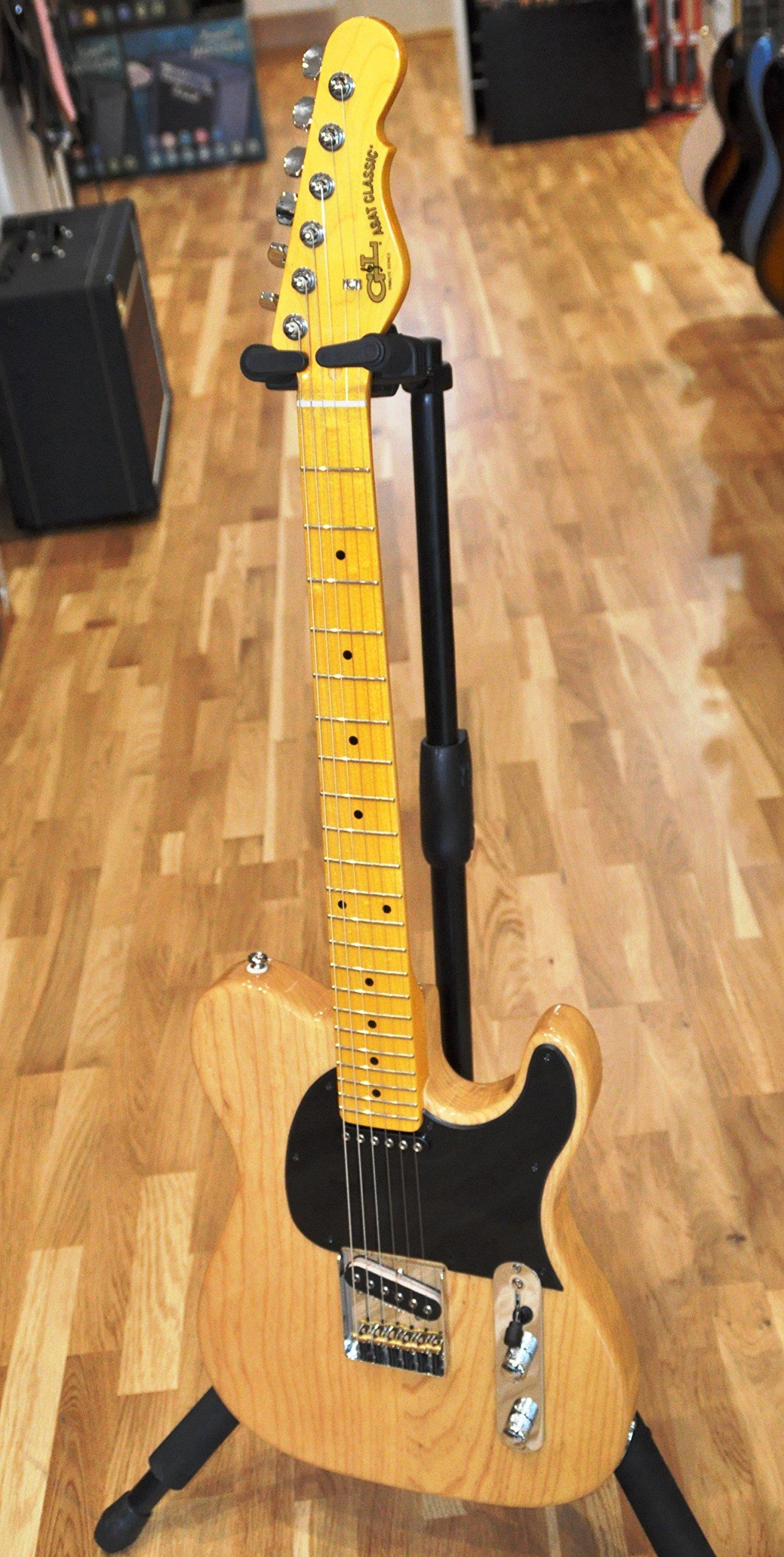 G&L Tribute ASAT Classic Electric Guitar Butterscotch Blonde Maple Fretboard