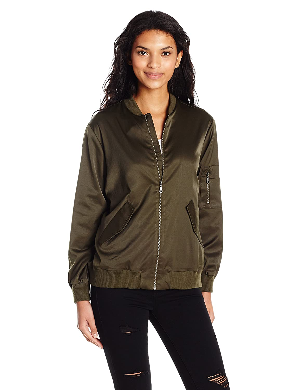 David Lerner Women's Bomber Jacket DAJ0116