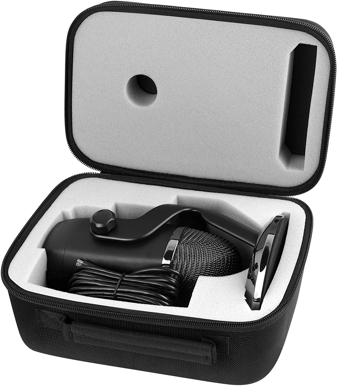 Case for Blue Yeti USB Microphone/Yeti Pro/Yeti X, Also Fit Cable and Other Accessories, by COMECASE