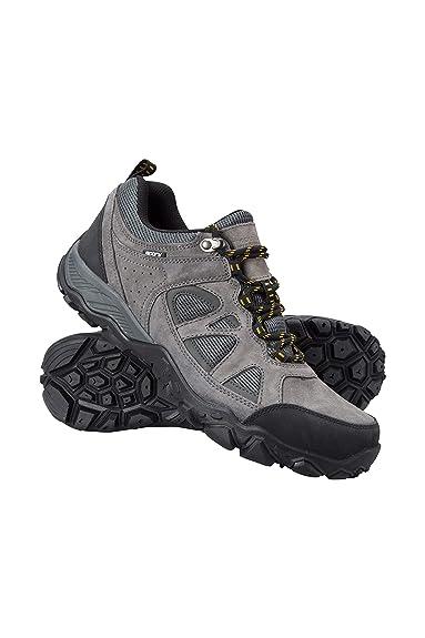 Mountain Warehouse Slate Mens Waterproof Shoes - Rainproof Walking Shoes 65f9e7344e8d