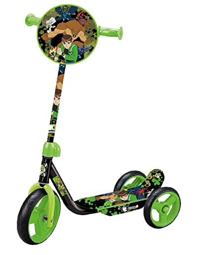 94998d39437 Toyhouse Ben 10 Lil' Skate Scooter Three Wheeled for Preschool Kids, Black:  Amazon.in: Toys & Games