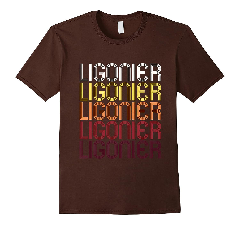 Ligonier PA  Vintage Style Pennsylvania T-shirt-TH