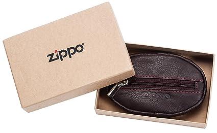 Zippo Monedero, marrón (Marrón) - 2005414: Amazon.es: Equipaje