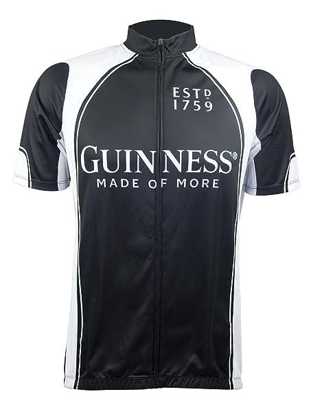 Amazon.com  Guinness Short Sleeve Performance Bike Shirt with Full ... 8810853df
