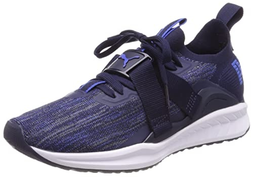 938b8773ef7c Puma Men s Ignite Evoknit Lo 2 Navy Blue Running Shoes-10 UK India (