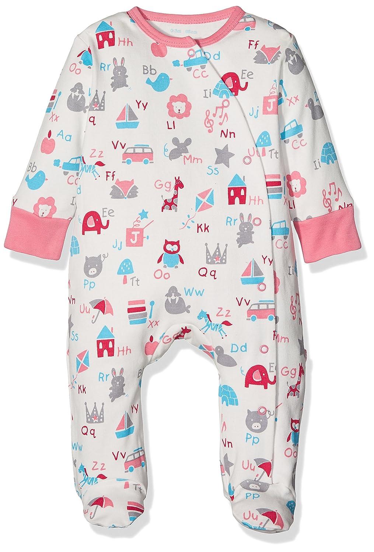 Kite Baby-Mädchen Schlafstrampler ABC Sleepsuit BG501