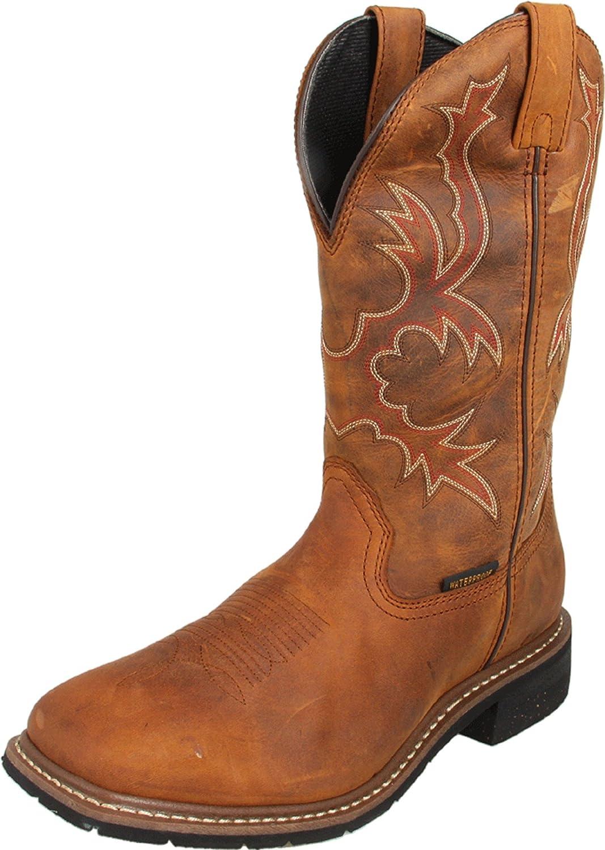 Dan Post Boot Company メンズ タン(Saddle Tan) 10.5 D(M) US 10.5 D(M) USタン(Saddle Tan) B00595VEVK