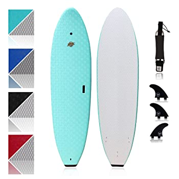 South Bay Board Co. Premium Soft Top Surfboard