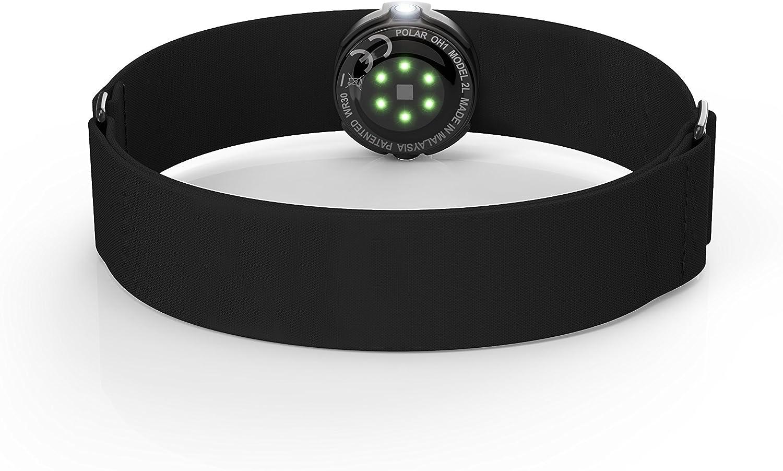 Polar OH1 OH1-Sensor óptico de frecuencia cardíaca, Compatible con los Dispositivos Bluetooth Smart sin OHR y la App Beat, Color Negro, Unisex Adulto, M/XXL: Amazon.es: Deportes y aire libre