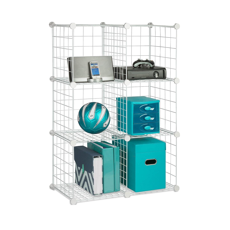 Amazon.com: Honey-Can-Do SHF-01794 Modular Mesh Storage Cube, 6-Pack ...