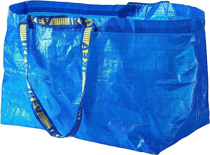 IKEA 172.283.40 Frakta Shopping Bag, Large, Blue: Amazon.ae