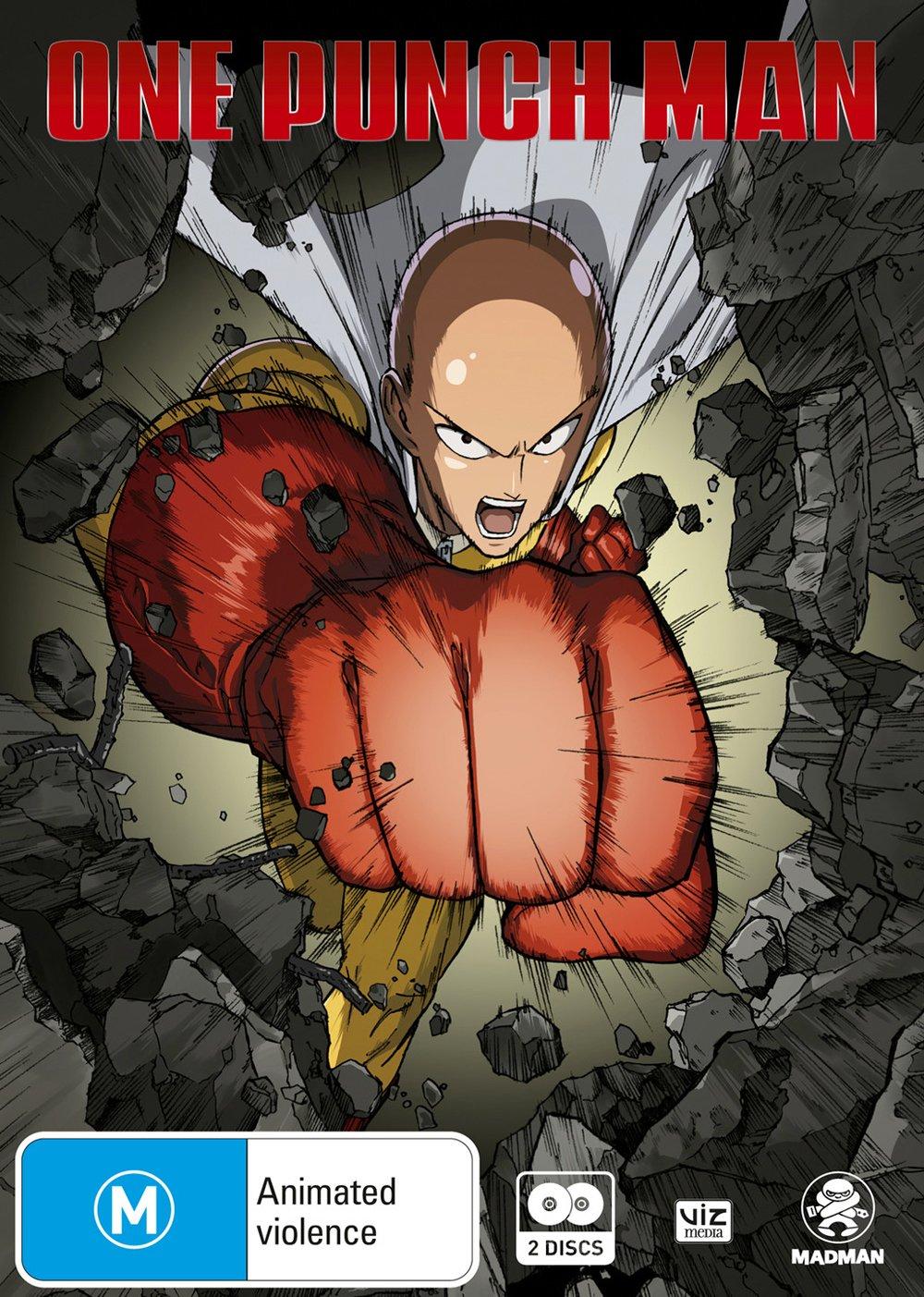 One Punch Man: Season 1 | Anime | NON-USA Format | PAL Region 4 Import - Australia