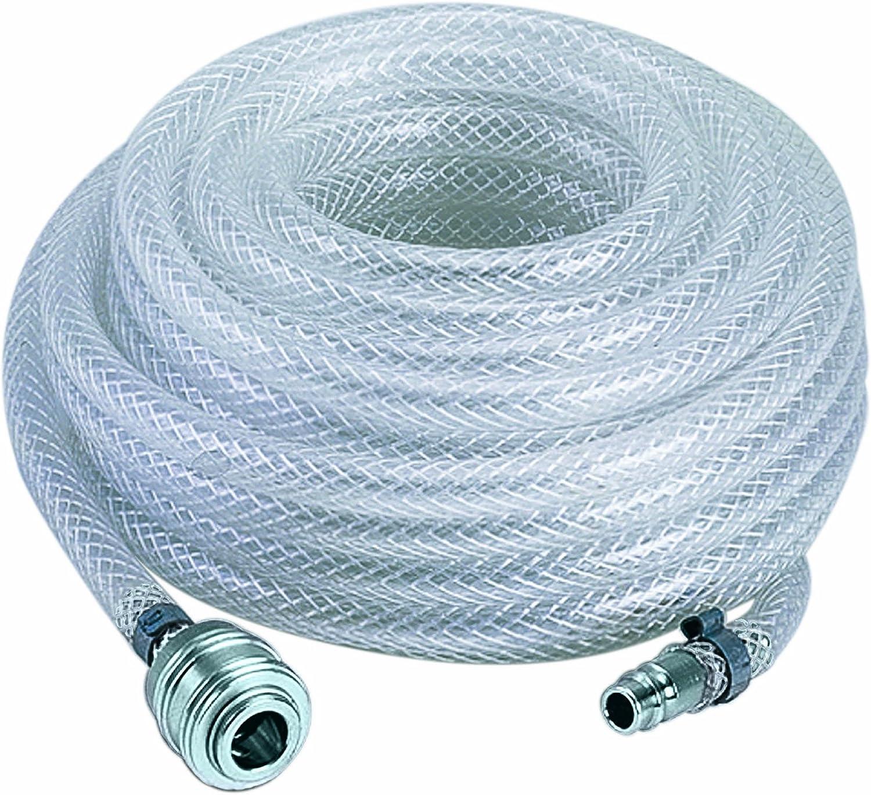 Einhell 4138200 - Manguera para aire comprimido, 15 m, 15 bar, color gris
