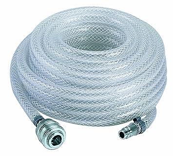 Einhell Gewebeschlauch passend für alle gängigen Kompressoren (Länge Schlauch 15 m, Arbeitsdruck 15 bar)