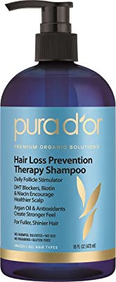 PURA D'OR Organic Argan Oil Shampoo