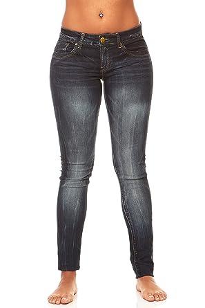 17090abc5fc32 V.I.P. JEANS Plus Size Skinny Jeans for Women Black Dark Blue at ...