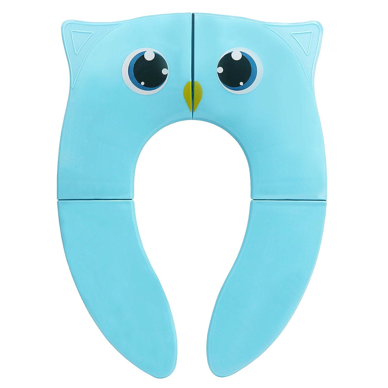 Siè ge Potty pliable - TWZ Couvertures de Toilette Antidé rapantes et Coussinets de Toilette Ré utilisables Portable en Silicone pour Voyage