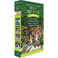 Magic Tree House Boxed Set, Books 5-8: Night of the Ninjas, Afternoon on the Amazon, Sunset of the Sabertooth, and…