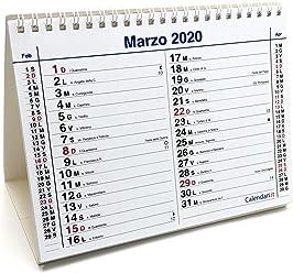 Calendario Aprile 2020 Con Santi.Amazon It Calendari It