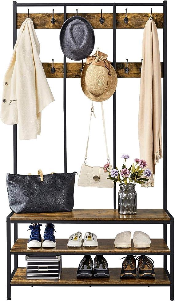 Shoe Cabinet Storage Organiser Rack Stand 2//3//4//5-Layer Mirror Oak//White 4 Sizes