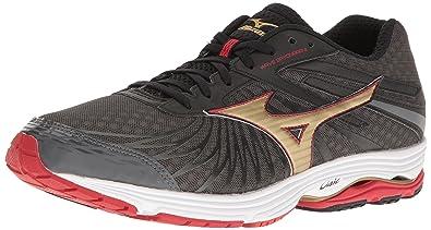 c2208b5fe786 Mizuno Men's Wave Sayonara 4-M Running Shoe, Dark Shadow/Gold, 10 D ...