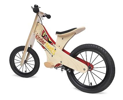 amazon com kinderfeets super wooden balance bike sports outdoors rh amazon com Wooden Balance Bike Plans DIY Wooden Balance Bike Plans