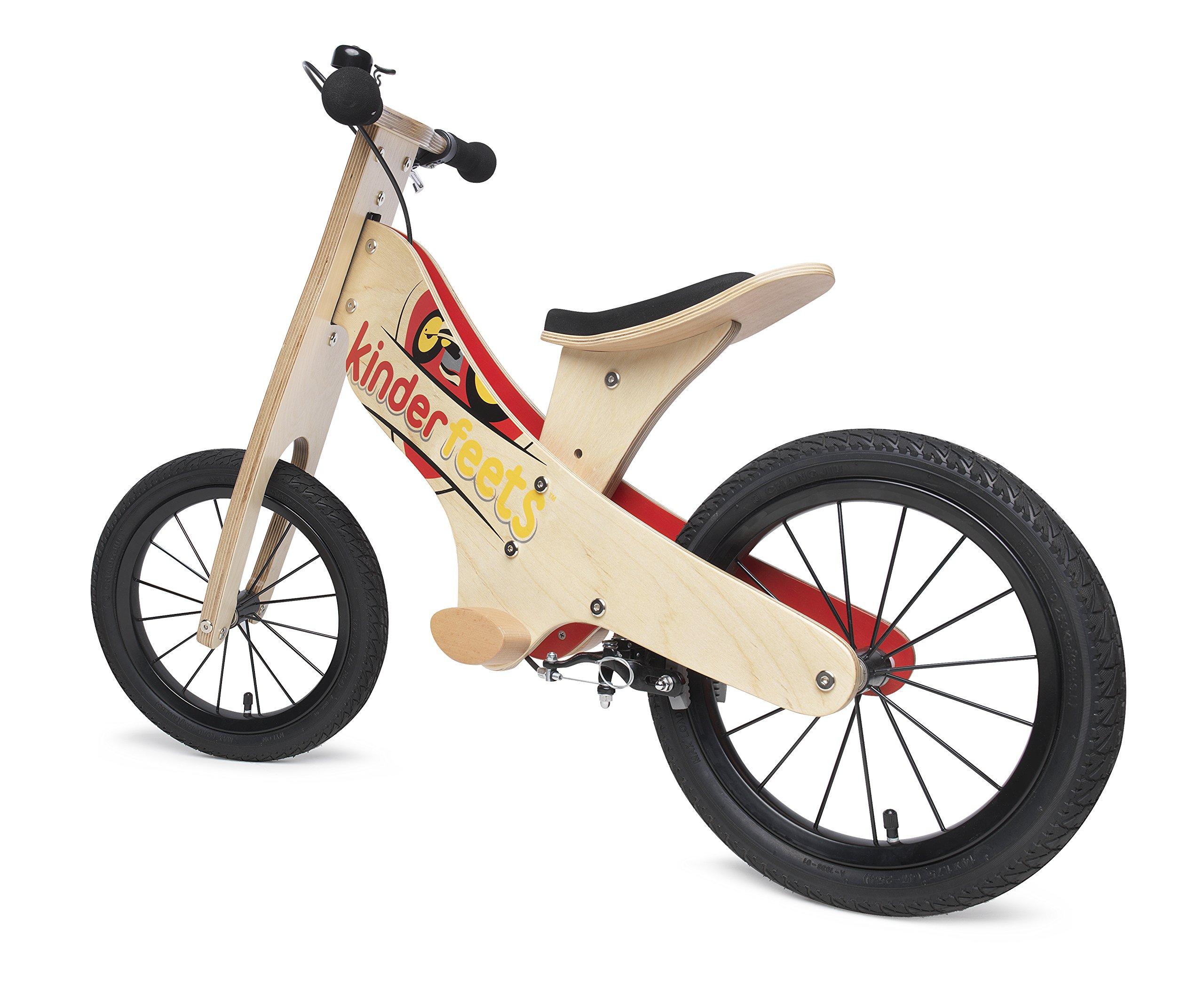 Kinderfeets Super Wooden Balance Bike by Kinderfeets