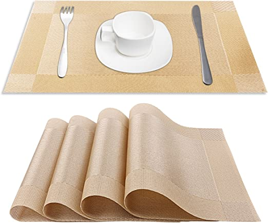 Amazon Com Csys Pvc Place Mats Heat Insulation Pvc Placemats