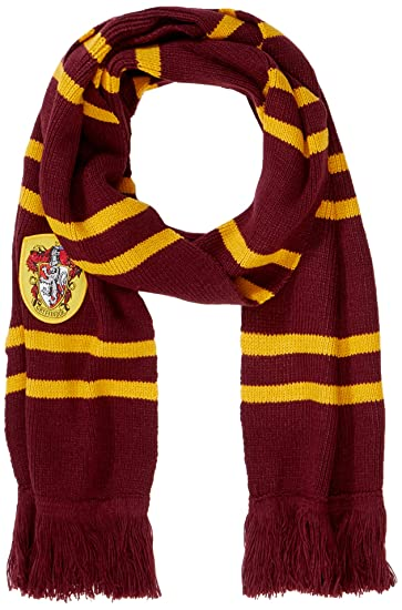 35613a212f992 Cinereplicas Harry Potter Scarf - Official - Authentic - Ultra Soft Knitted  Fabric (Red