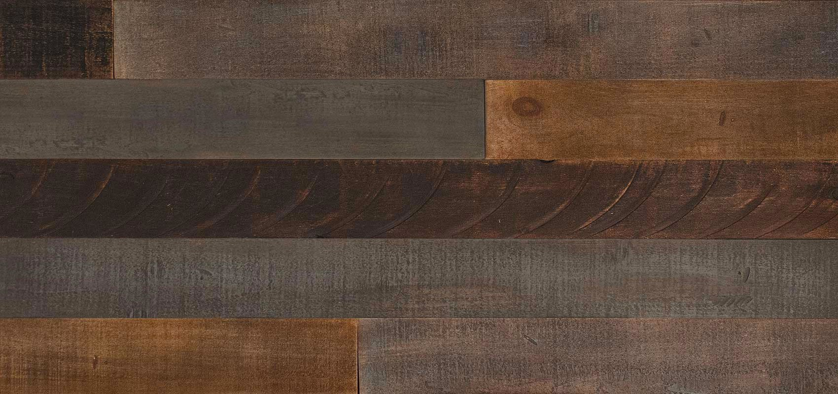 AS-IS BRAND Wood Walls (RAW-ISH) - Glue & Stick Aged Wood Planks (20 Sq. Ft) by AS-IS (Image #3)