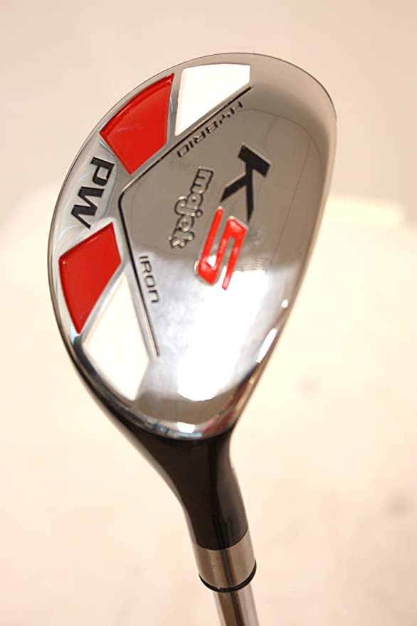 Amazon.com: majek Golf All PW híbrido regular flex diestros ...