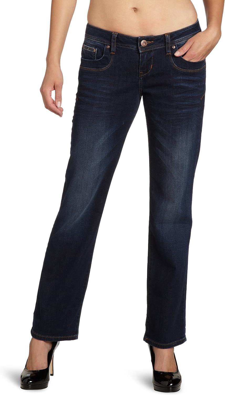 LTB Jeans Damen Straight Leg Valentine Blau (Exter Wash 2279)